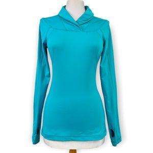 Lululemon Run Trail Tech Long Sleeve Bright Blue
